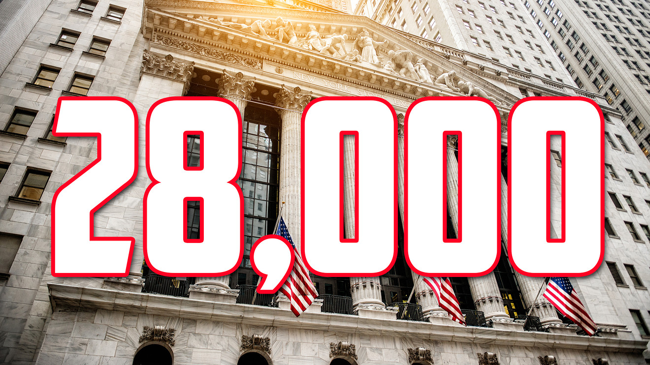 market-extra:-dow-on-the-verge-of-busting-above-milestone-at-28,000