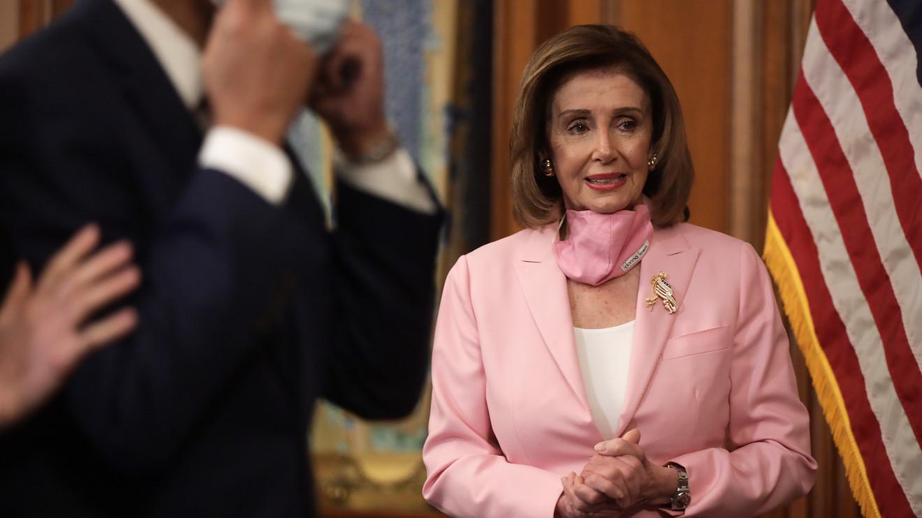 capitol-report:-pelosi-signals-support-for-massive-new-payroll-subsidies-as-small-business-loan-fund-nears-expiration
