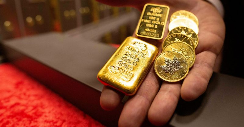 metals-stocks:-gold-prices-fall-with-treasury-yields-up-as-pace-of-us.-inflation-hits-13-year-high