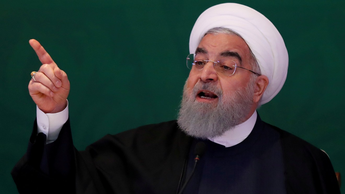 the-wall-street-journal:-iran's-president-says-no-talks-with-us.-until-'maximum-pressure'-campaign-ends