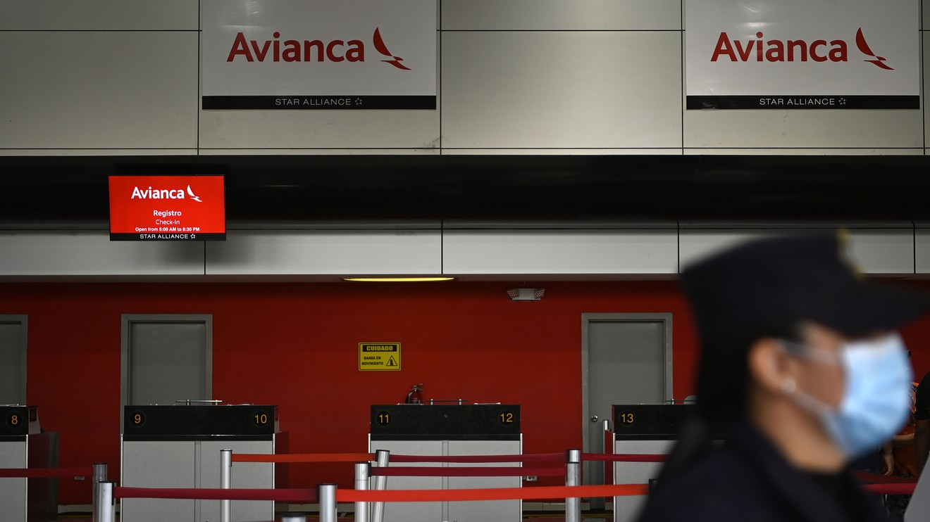 the-wall-street-journal:-colombian-airline-avianca-files-for-chapter-11-bankruptcy