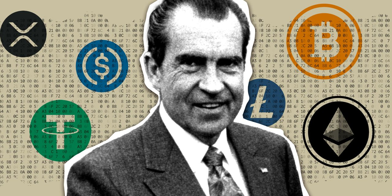 market-snapshot:-crypto-is-reshaping-the-world-economy,-50-years-after-nixon-ended-the-dollar's-peg-to-gold.-here's-how-some-are-playing-it